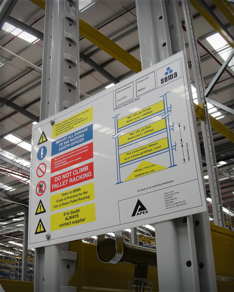 Warehouse Signage